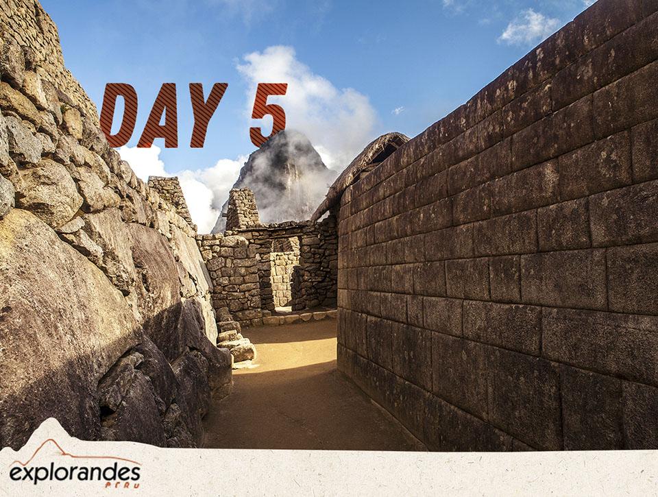 day 5 inca trail cusco